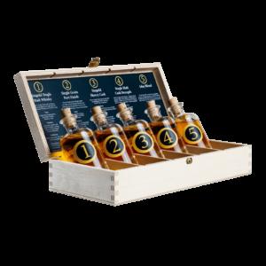 Singold Whisky Tasting Set offen mit Nosinginfos