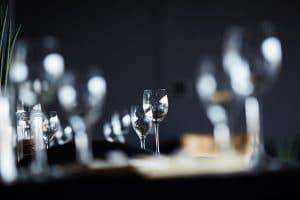 Singold Restaurant mit Gläsern