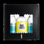 Hans Jürgen Gin Heisszeit mit Fever Tree mediterranean Tonic Water Geschenkbox