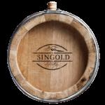 Whiskyfass frontal mit Logo